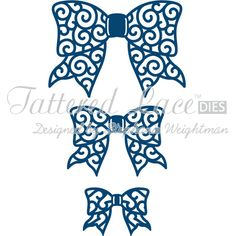 Tattered Lace Bows Die