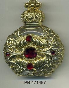 Botella de aceite esencial frasco botella de Perfume Cristal