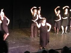 Adult Show Choir does the mambo.