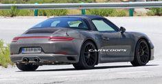 Porsche's Updated 991.2 Targa GTS Is Undergoing Tests In Spain #Porsche #Porsche_911