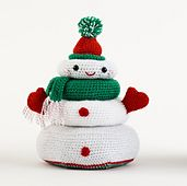Ravelry: Holiday Stacking Toy pattern by Lion Brand Yarn - free pattern