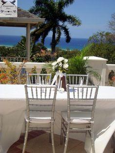 Hot White Tropical Jamaica Destination Wedding Reception At Award Winning All Inclusive Boutique