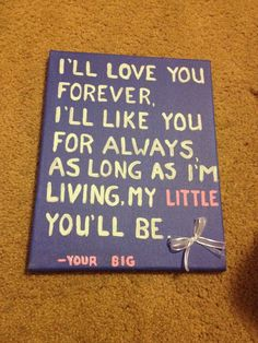 Cute big little sorority sister quotes