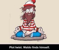 Plot twist: Waldo finds himself!