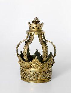 Small Torah crown Austria-Hungary 1740