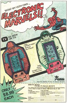 Wow! My Very Own Electronic Marvels!!