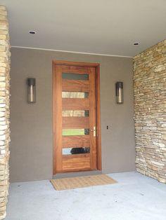 Borano Modern Doors - modern - Entry - Miami - Borano Contemporary front door with no side windows, just simple door! Modern Exterior Doors, Modern Door, Midcentury Modern Front Door, Modern Entryway, Exterior Design, Front Door Entrance, Entry Doors, Garage Doors, Door Design