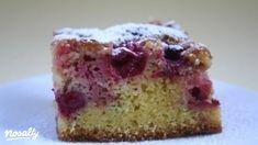 Gyors joghurtos-meggyes sütemény   Nosalty Vanilla Cake, Sweet Tooth, Favors, Muffin, Cupcakes, Breakfast, Easy, Recipes, Food