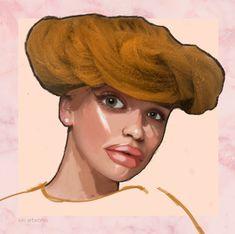 Collage: Kristyna Hrdlickova Model: Bětka Malá