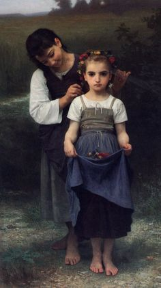 William Adolphe Bouguereau - I've been in love with this painting since the first time I saw it in Montreal ~
