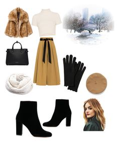 """Warmly cold winter"" by asvaabigail on Polyvore featuring Staud, Temperley London and Burberry"