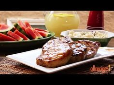 Grilling Recipes - How to Make Grilled Pork Chops - YouTube
