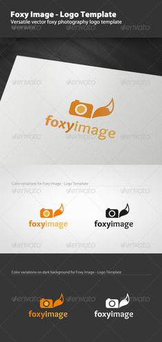 foxy image logo template