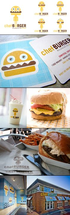 Chefburger packaging by Design Ranch. Who want's to join me for a burger celebrating National Cheeseburger Day PD