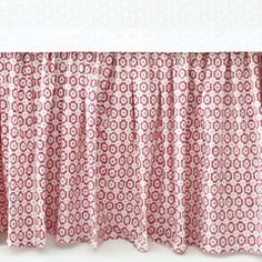 Pine Cone Hill Esha Damask Pink Bed Skirt