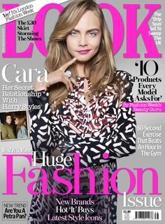 Have you got your copy of this week's LOOK yet? It's our Huge Fashion Issue and you can take a look inside here...  http://www.look.co.uk/news/cara-delevingnes-relationship-with-harry-styles-in-this-weeks-look
