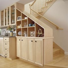 Storage with the Stairs