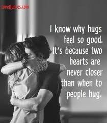 Hugs are the best! They make people feel welcomed, warm, and totally loved. So, that's why we compiled the best hug quotes to remind us why we love them! Cute Love Quotes, Need A Hug Quotes, Love Quotes For Her, Romantic Love Quotes, Couple Quotes, Words Quotes, Sayings, Qoutes, Relationship Quotes