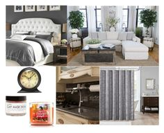 """""""10 Days With My Devil: My Apartment"""" by gravityfallsgirl33 ❤ liked on Polyvore featuring interior, interiors, interior design, home, home decor, interior decorating, Silhouette, Madison Park and Fig+Yarrow"""
