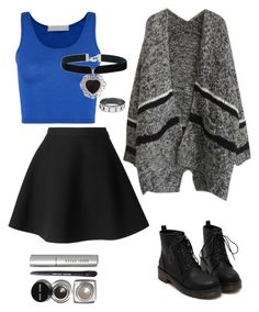 """""""Untitled #335"""" by estexime ❤ liked on Polyvore featuring MSGM, Rock 'N Rose and Bobbi Brown Cosmetics"""