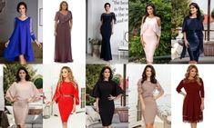 10 rochii elegante XXL - 7XL Rochii de seara si de zi   Rochii deosebite Bridesmaid Dresses, Wedding Dresses, Couture, Fashion, Embroidery, Shelf, Bridesmade Dresses, Bride Dresses, Moda