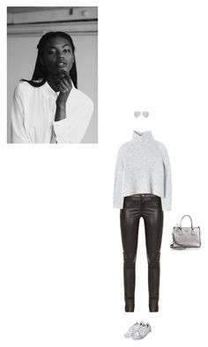 """""""The Letter"""" by karinhadadan ❤ liked on Polyvore featuring Gucci, Rebecca Taylor, Victoria Beckham and Prada"""