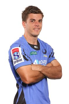 Mitchell Short Photos Photos - Mitchell Short poses during a Western Force Super Rugby headshots session at the Rugby WA office on April 2017 in Perth, Australia. Super Rugby, Perth Australia, April 27, Westerns, Polo Shirt, Polo Ralph Lauren, Poses, Mens Tops, Polos