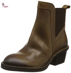 Fly London Dicy940fly, Bottes Chelsea Femme, Marron (Camel), 38 EU - Chaussures fly london (*Partner-Link)