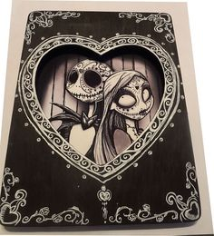 Day Of The Dead Dios De Los Muertos Nightmare by DanaChangingArt.    I love this!!!!