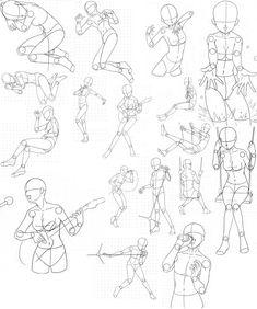 Body Sheet 6...via deviantart