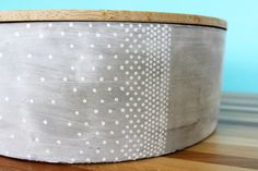 Fading Dots Concrete Storage Container : Contain(er) Yourself by PivotHandmade…