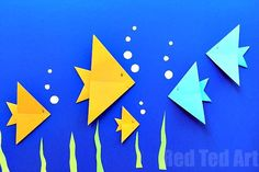 Easy Origami for Kids! - Red Ted Art's Blog
