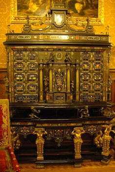 Wardrobe in Peles Castle
