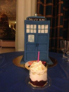 My birthday cake! Celebrating my birthday at Long Island Who con!  Thank you dad and my best Whovian friend!