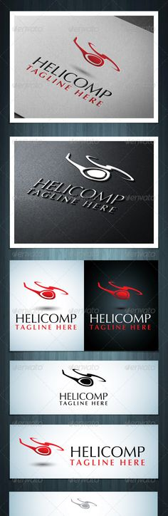 Helicopter Company #GraphicRiver Helicomp is a multipurpose logo, can be used in any companies related to helicopters, aircrafts, or something related to flying. Ai & EPS 10 / CMYK / 100% vector / Easy to edit color and text / Font name and link in the info file Created: 7July13 GraphicsFilesIncluded: VectorEPS #AIIllustrator Layered: No MinimumAdobeCSVersion: CS Resolution: Resizable Tags: air #aircraft #company #flight #fly #flying #helicopter #icon #logo #rotor #travel