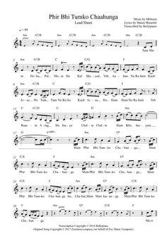 Hindi Song Flute or Violin Notes Keyboard Sheet Music, Sheet Music Pdf, Violin Sheet Music, Song Sheet, Sheet Music Notes, Music Sheets, Piano Music, Saxophone Notes, Guitar Notes