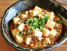 마파두부 만드는법~한그릇 두부요리, 일품요리