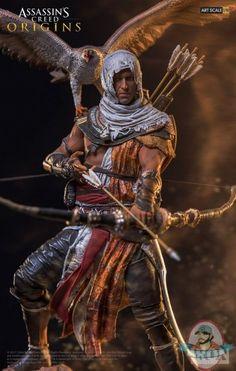 Assassins Creed Series, Assassins Creed Origins, All Assassin's Creed, Video Game Costumes, Desenho Tattoo, Fantasy Warrior, Dark Warrior, Monster Hunter, Art Studios