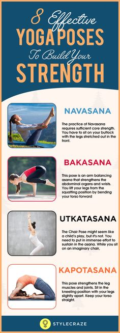 A weak body does no good except dishearten your spirit. Lower stamina, nerve instability, and weak immunity exhaust your body. As a result, every physical task you do gets stressful and tiring. If you are looking at something natural and practical to prevent body weakness, yoga is your rescue boat. The 8 strength building yoga asanas listed in this article will help you get started.