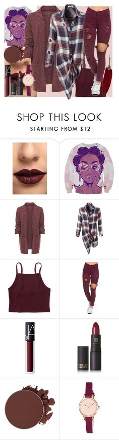 """""""Monochromatic Colours"""" by ema123-clxvi ❤ liked on Polyvore featuring LASplash, WearAll, LE3NO, Aéropostale, NARS Cosmetics, Lipstick Queen, Anastasia Beverly Hills, Radley and plus size clothing"""