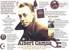 Camus Writing Exercises, Spanish Lessons, Countries Of The World, Editorial Design, My Books, Literature, Writer, Culture, People