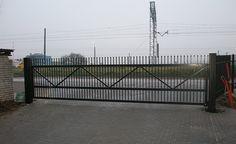 Brama jednoskrzyd�owa � O�ar�w Mazowiecki