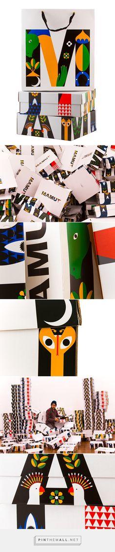 MAMUT invierno 14. /  Fashion brand MAMUT / packaging