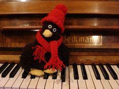 Erwin übt Weihnachtslieder.