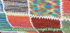 Strick-Blog Handarbeits-Blog Freising Kunterbunter Vogel