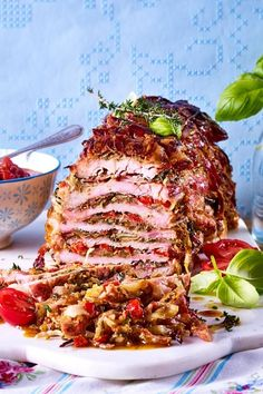Bei diesem wird die ganze gerne zuschlagen: in den Schi. With this # Sunday roast will the whole like to strike: in the layers of delicate schnitzel Roast Recipes, Vegan Recipes, Cooking Recipes, Canned Blueberries, Vegan Scones, Dinner Ideas, Dinner Recipes, Gluten Free Flour Mix, Scones Ingredients