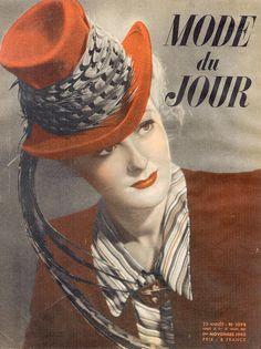 vintage Mode du Jour Magazine