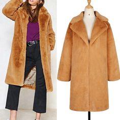 f6992b43b7d Overcoat Mantel Jacke Graben Coat Jacket Trench Damen Langarm Lange  Oberteile  fashion  women   · Parka StyleMantel ...