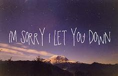 let you down i don t wanna leave you now: