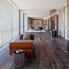 Andaz West Hollywood West Hollywood, California indoor room property house building floor Lobby home Architecture interior design wood living room flooring mansion real estate hall cottage Design furniture